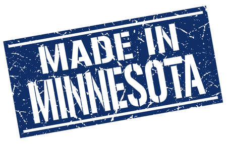 produced: made in Minnesota stamp