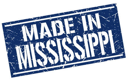 produced: made in Mississippi stamp