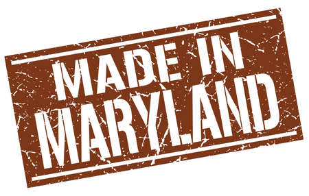 maryland: made in Maryland stamp