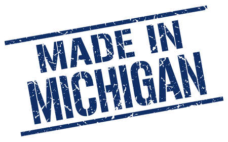 produced: made in Michigan stamp