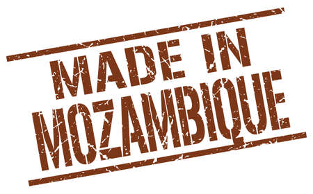produced: made in Mozambique stamp