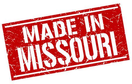 missouri: made in Missouri stamp