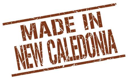 new caledonia: made in New Caledonia stamp