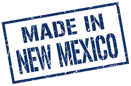 new mexico: made in New Mexico stamp