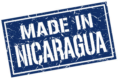 nicaragua: made in Nicaragua stamp