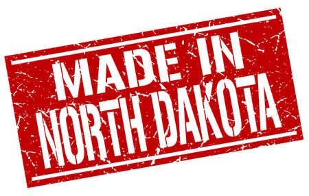 dakota: made in North Dakota stamp