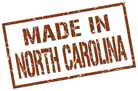 north carolina: made in North Carolina stamp