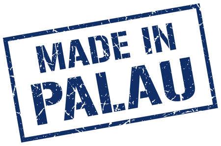 palau: made in Palau stamp