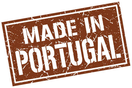 portugal: made in Portugal stamp Illustration