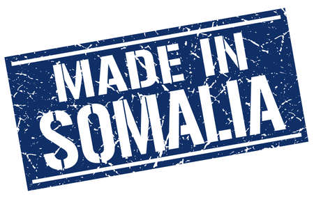 made in Somalia stamp