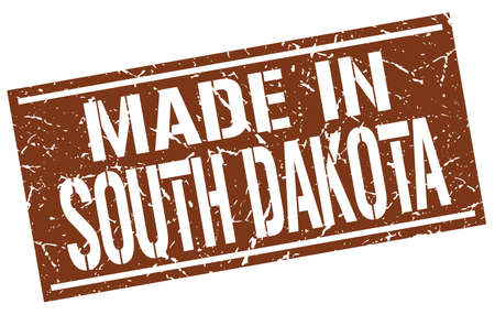 dakota: made in South Dakota stamp