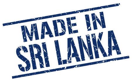 sri lanka: made in Sri Lanka stamp