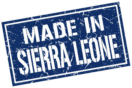 sierra: made in Sierra Leone stamp