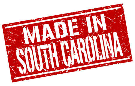 carolina: made in South Carolina stamp