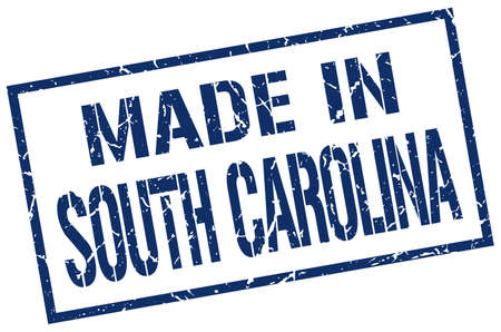 south carolina: made in South Carolina stamp