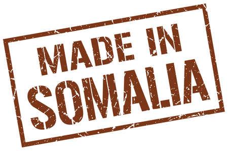 somalia: made in Somalia stamp