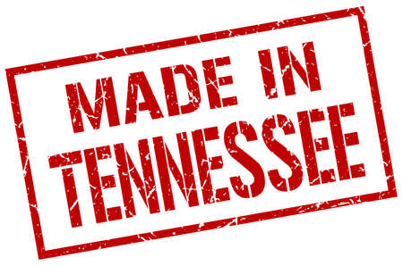 tennesse: made in Tennessee stamp