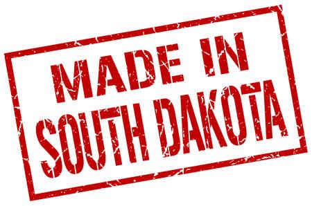 south dakota: made in South Dakota stamp