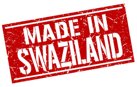 swaziland: made in Swaziland stamp