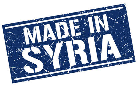 Syria: made in Syria stamp Illustration