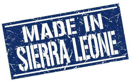 sierra leone: made in Sierra Leone stamp