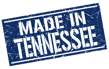 tennesse: hecho en sello Tennessee