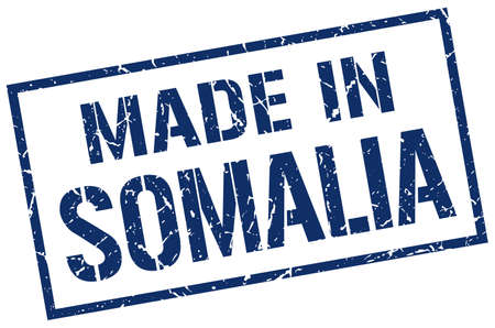 somalia: made in Somalia stamp