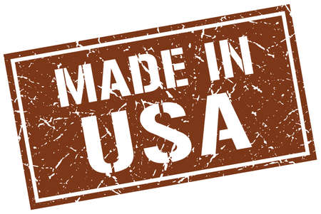 made in usa stamp Illustration