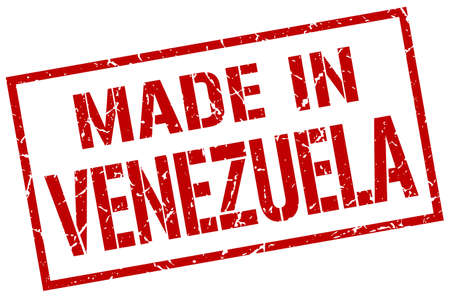 venezuela: made in Venezuela stamp
