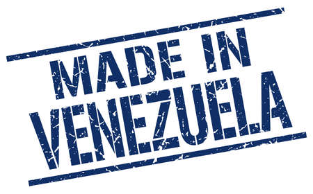 venezuela: made in Venezuela stamp