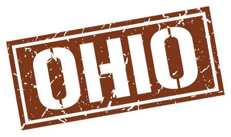 brown: Ohio brown square stamp