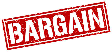 bargains: bargain square grunge stamp