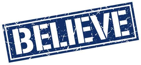 creer: creer sello cuadrado del grunge Vectores