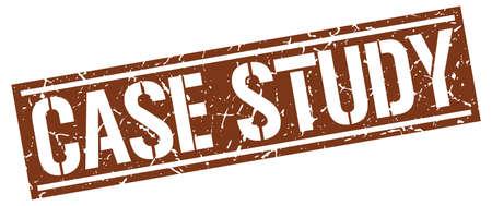 case: case study square grunge stamp
