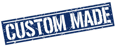 custom made: custom made square grunge stamp