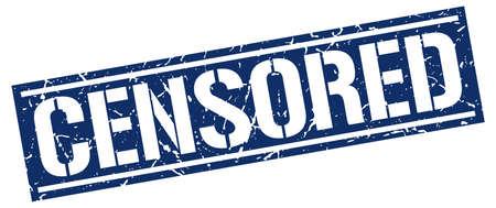censored: censored square grunge stamp