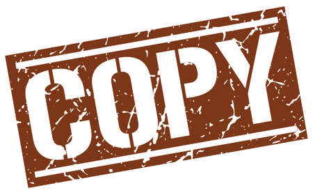 copy square grunge stamp