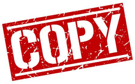 copy: copy square grunge stamp