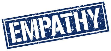 empathy: empathy square grunge stamp Illustration