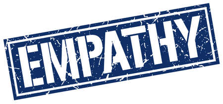 empatia: la empat�a del sello del grunge cuadrado