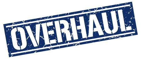 overhaul: overhaul square grunge stamp