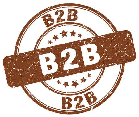 b2b: b2b marca de café grunge