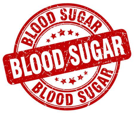 blood sugar: blood sugar red grunge stamp