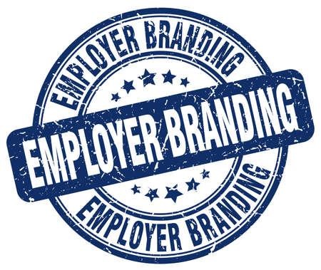 employer branding blu timbro grunge