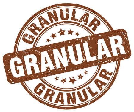 granular brown grunge stamp