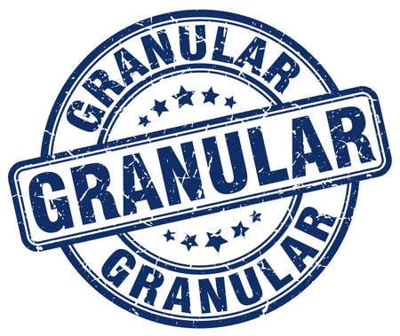 granular blue grunge stamp