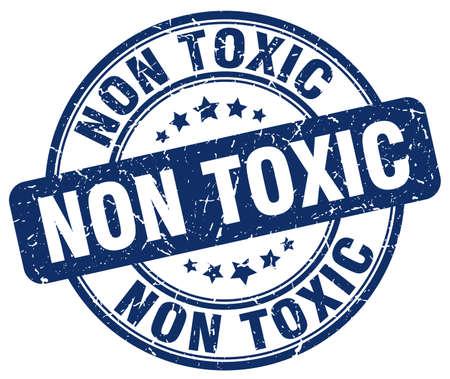 non: non toxic blue grunge stamp