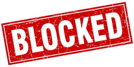 blocked: blocked square stamp