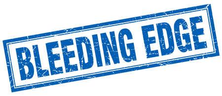 edge: bleeding edge square stamp
