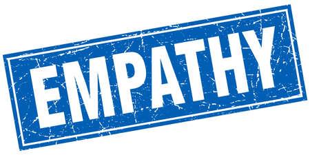empatia: empatía sello cuadrado